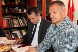 Budowa sali sportowej przy jastrowskim SOSW - podpisano umowę zwykonawcą tej inwestycji